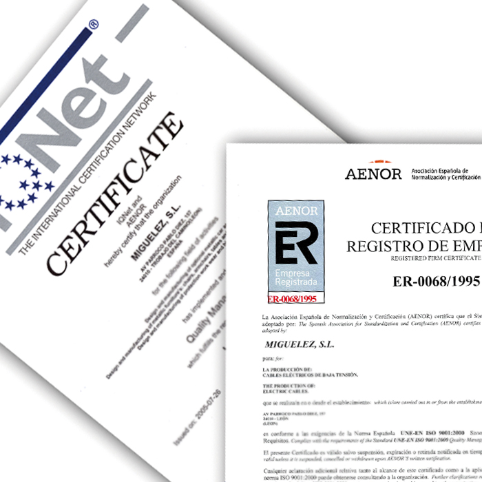 Image of CERTIFICATES